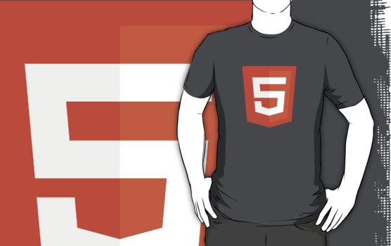 Silicon Valley - HTML5 Logo T-Shirt