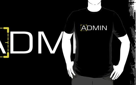 Person of Interest - Admin T-Shirt