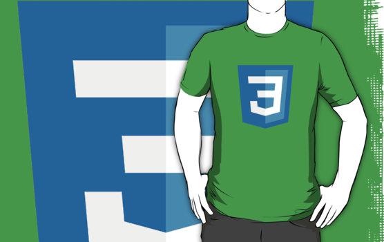 Silicon Valley - CSS3 Logo T-Shirt