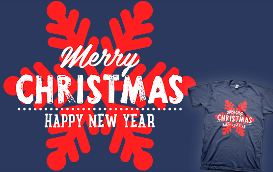 Merry Christmas & Happy New Year T-shirt
