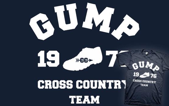 Forest Gump - Cross Country Team T-shirt