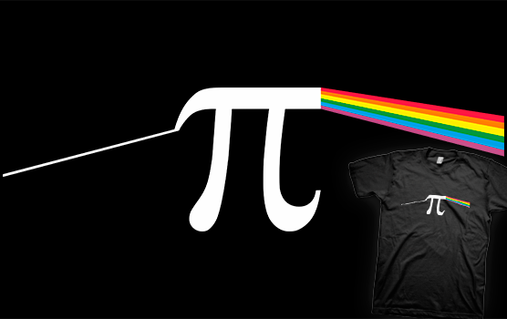 The Dark Side Of The Pi T-shirt