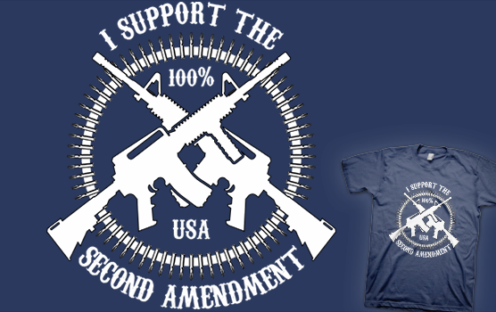 I Support The Second Amendment T-shirt