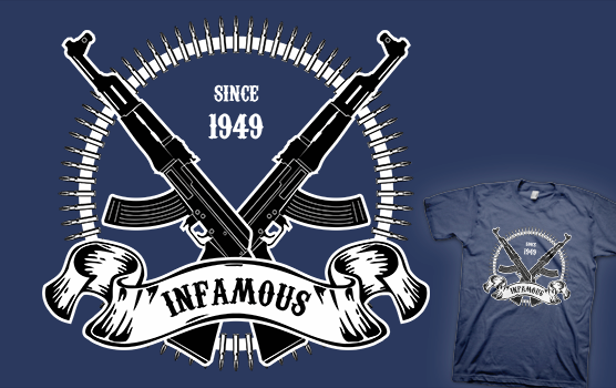 Infamous AK-47 T-shirt