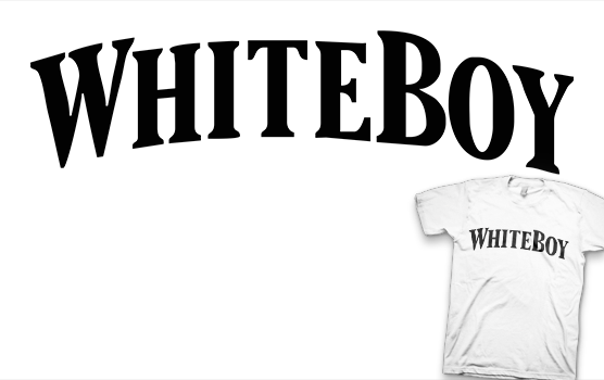 Tommy Lee T-shirt - White Boy