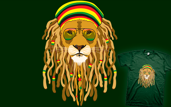 Hipster T-shirt - Rastalion