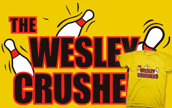 The Big Bang Theory T-shirt - Wesley Crushers