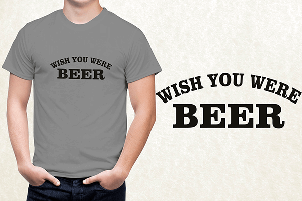 Its Always Sunny in Philadelphia - Whish You Were Beer T-shirt