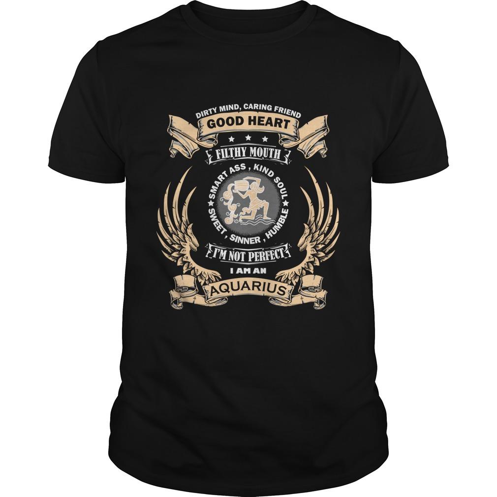 Zodiac Sign - Aquarius T-shirt