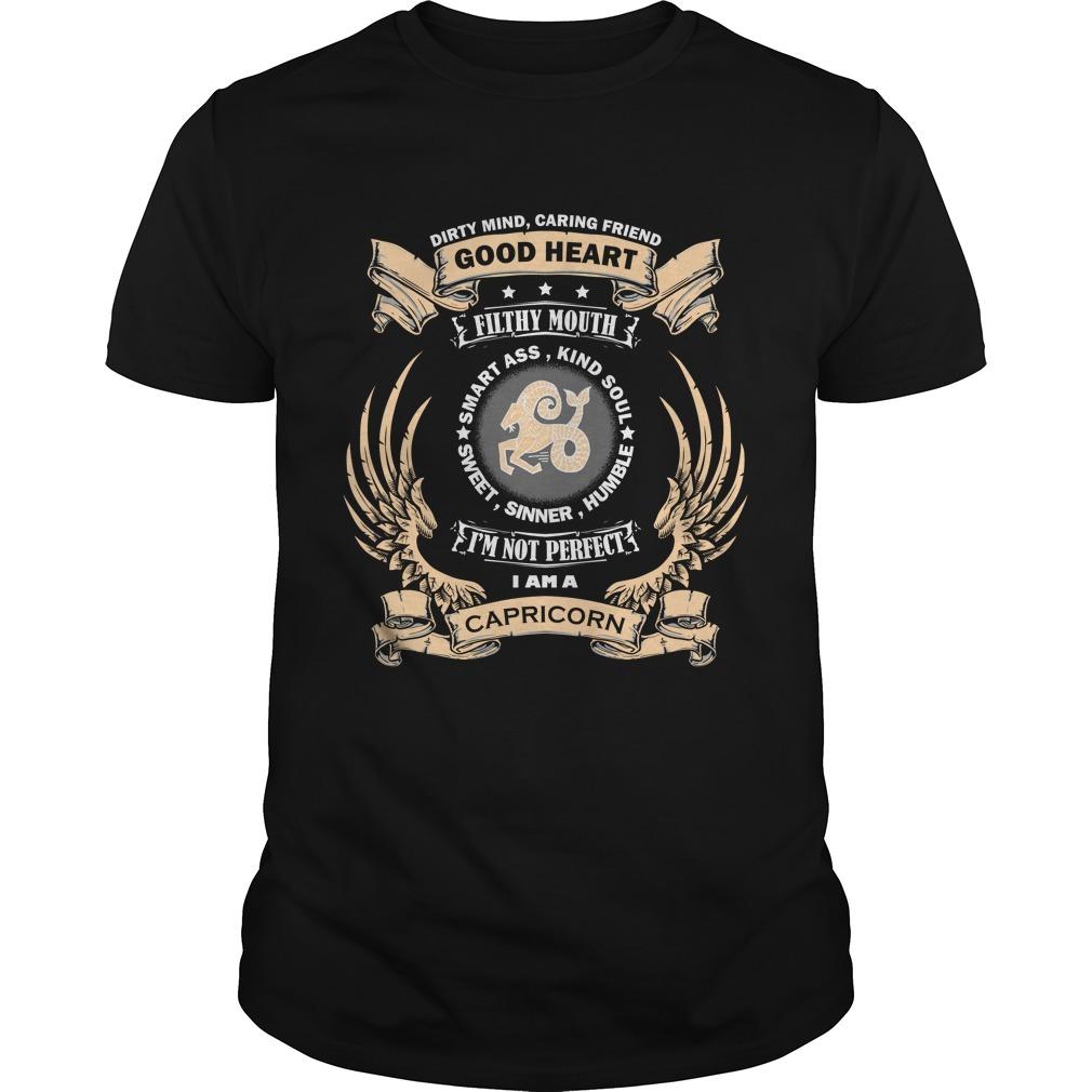 Zodiac Sign - Capricorn T-shirt
