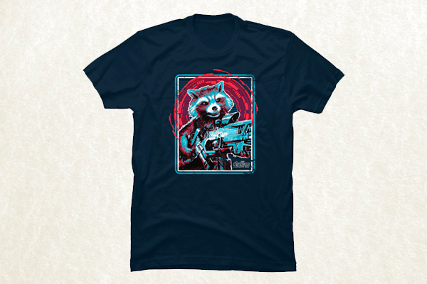 Rocket at the Ready T-shirt