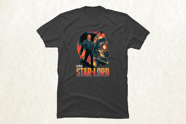 Star-Lord Profile T-shirt