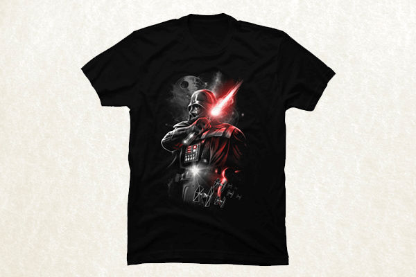 The Dark Lord Strikes T-shirt