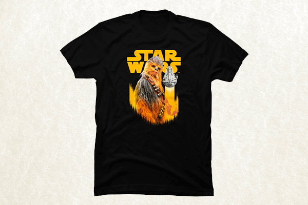 Clever Wookiee T-shirt