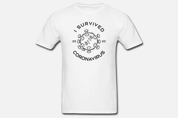I Survived The Coronavirus Pandemic T-shirt