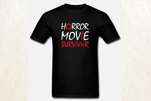 Horror Movie Survivor T-shirt
