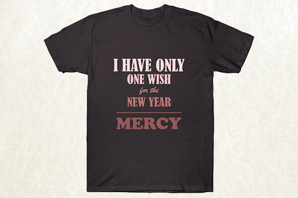 New Year Wish T-shirt