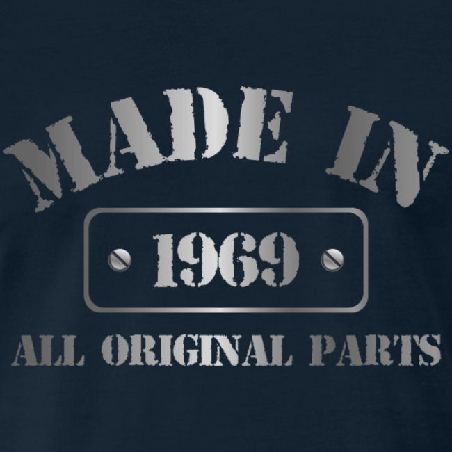 Made in 1969 T-shirt