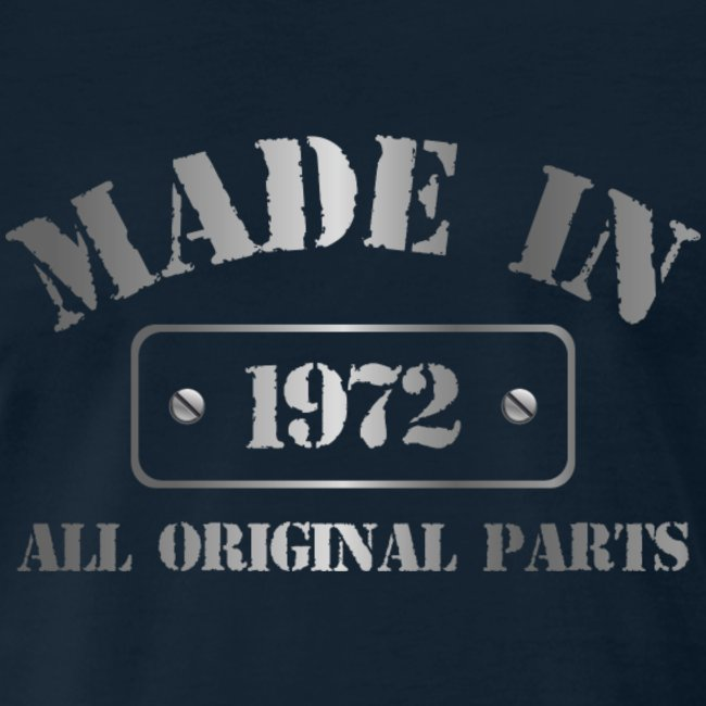 Made in 1972 T-shirt