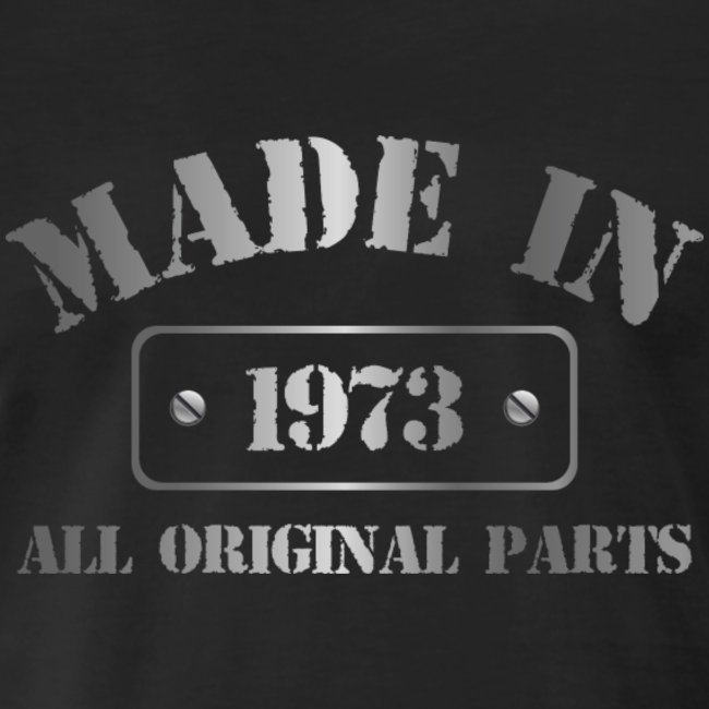 Made in 1973 T-shirt