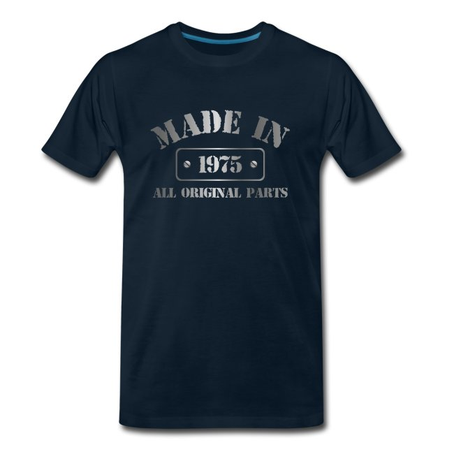 Made in 1975 T-shirt
