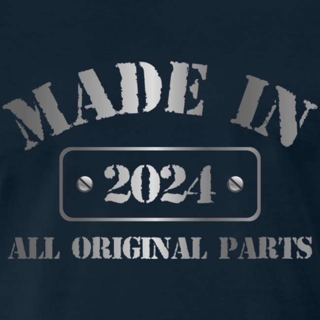 Made in 2024 T-shirt